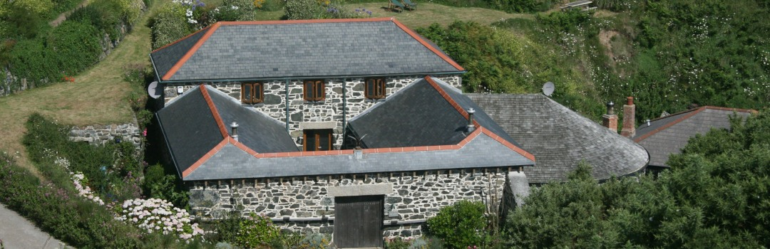 Historic buildings at Church Cove