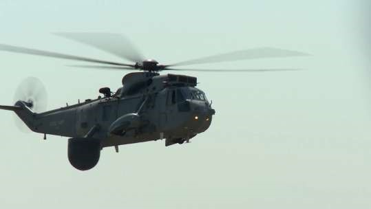 Retirement for the Sea King Helicopter