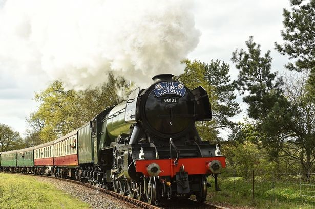 The Flying Scotsman comes to Cornwall